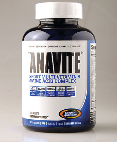 Anavite is a mulit-vitamin complex that includes aminos.