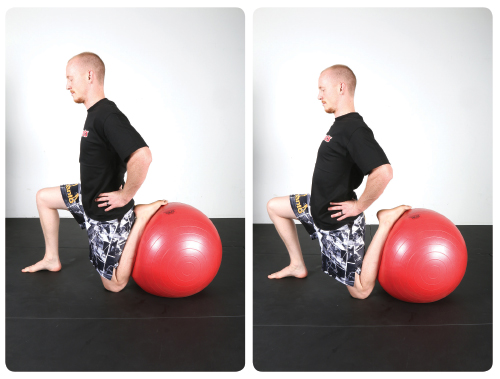 Prescription: Hold this position for 30 seconds and then alternate legs. Perform this two or three times.