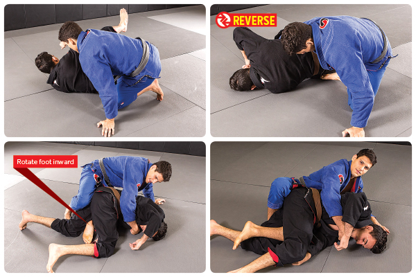 5. Slide hook in when partner turtles